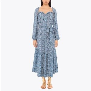 MOVING SALE 50% OFFTory Burch Georgette silk dress